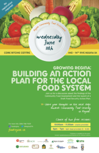 Growing Regina: Building an Action PLan for the Local Food System